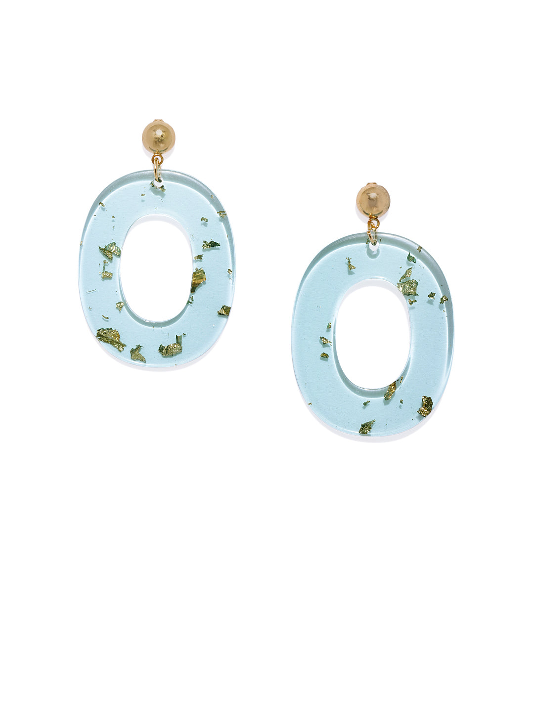 Aqua Resin Statement Drops - ChicMela