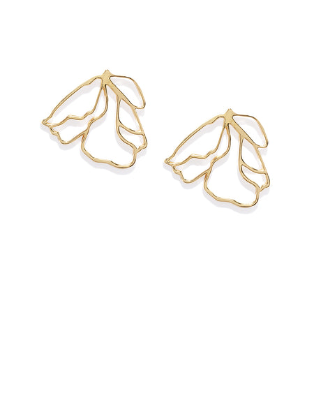 Anouk Oversized 18k Gold Plated Studs