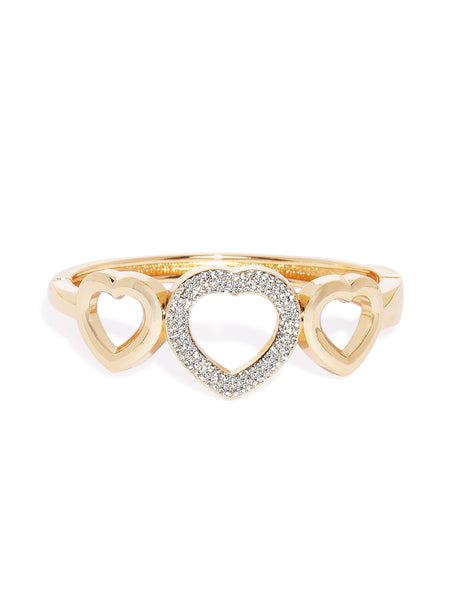 Solid Heart Shaped Cuff