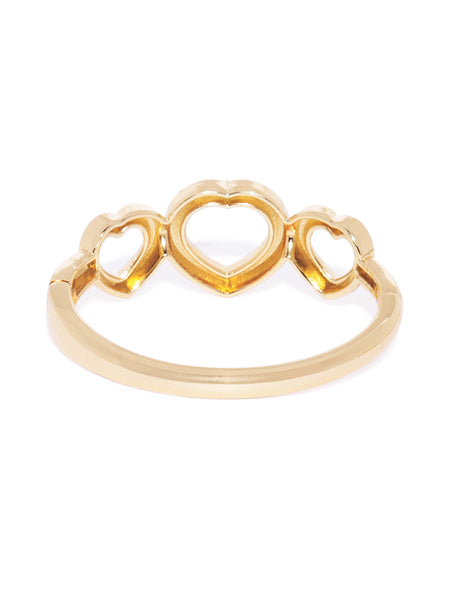 Solid Heart Shaped Cuff - ChicMela