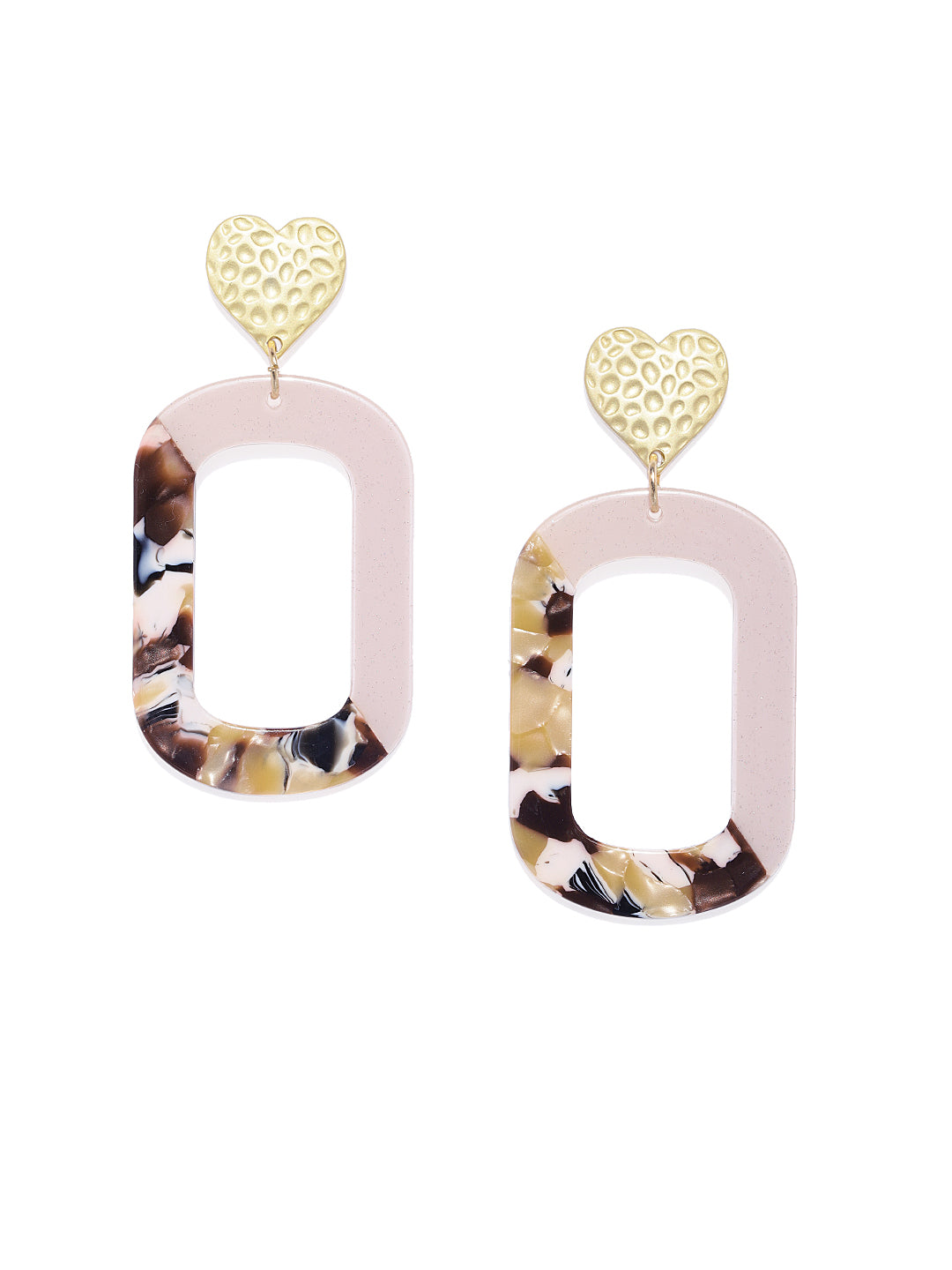 Love Box- Heart Earrings + Wraparound Cuff - ChicMela