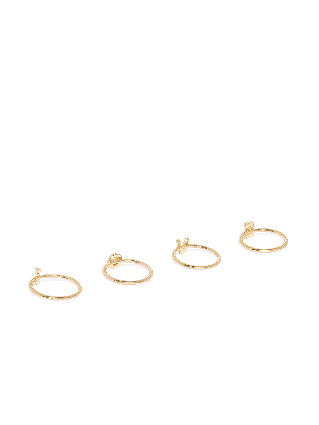 Love Ring Stack - ChicMela