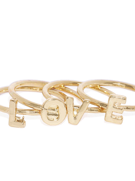 Love Ring Stack