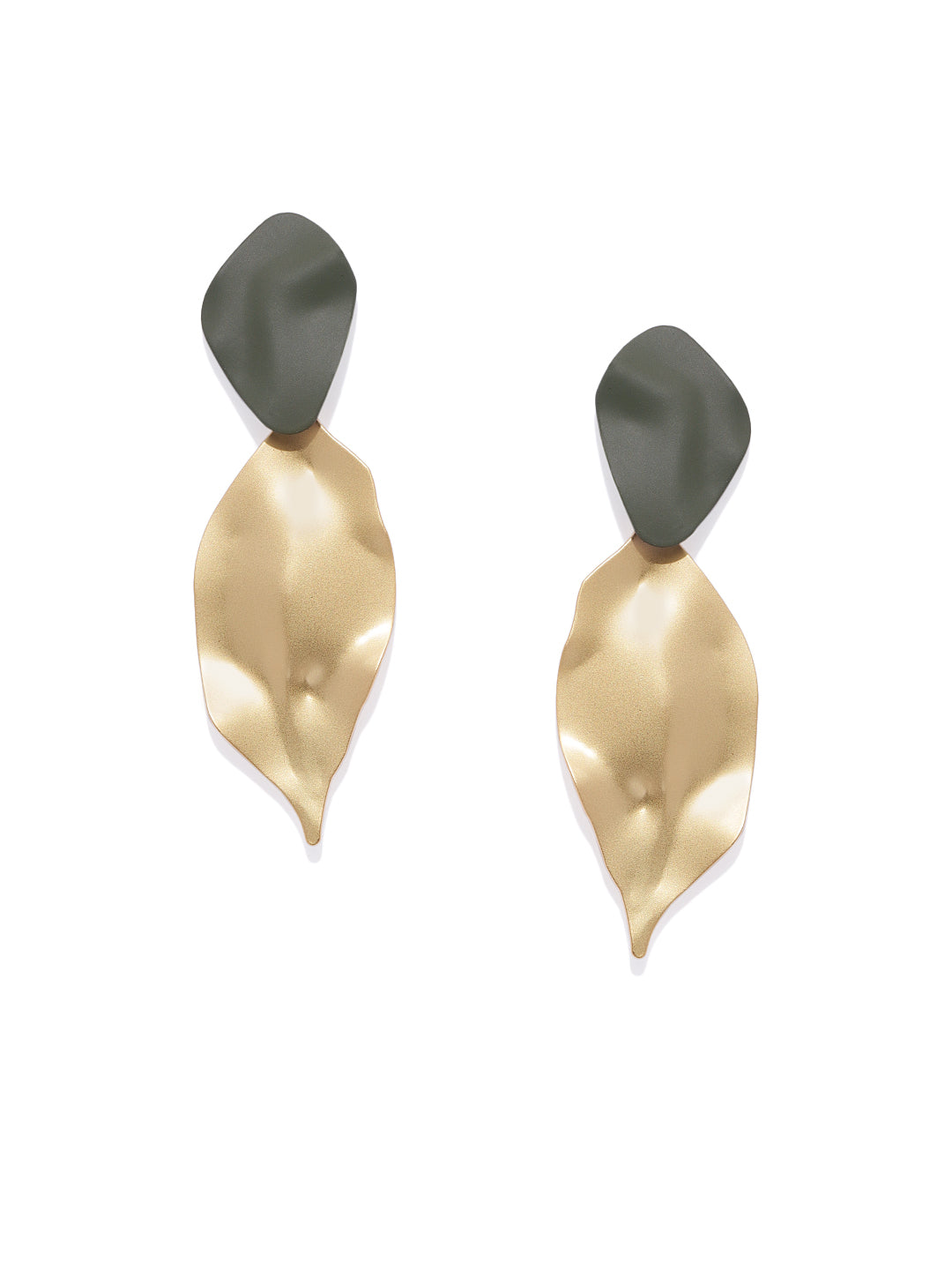 Matte Gold Leaf Drops - ChicMela