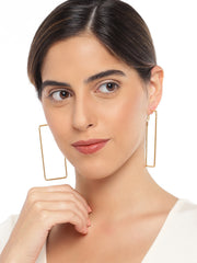 Big Square Hoops - ChicMela