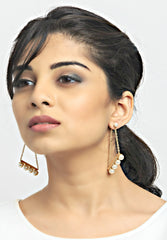 Coco 18k Gold Plated Hoops - ChicMela
