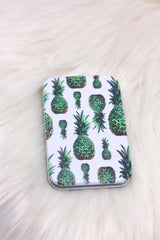 Pineapple Vegan Compact Mirror - ChicMela