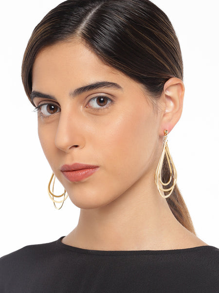 Peardrop Gold Earrings