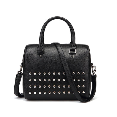 Ruby Studded Nu Pebble Black