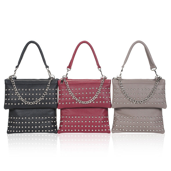 London Multi-functional CrossBody Handbag Studded Group View