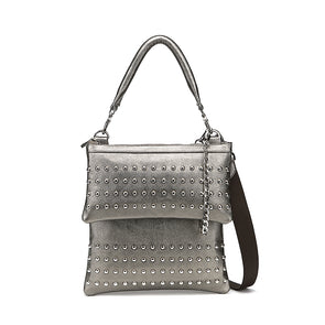 London Nu Pebble Studded Pewter