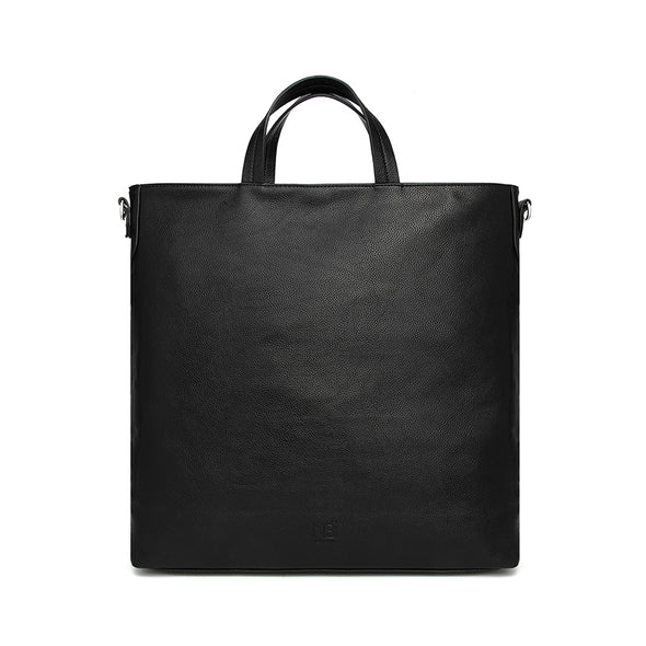 Holly Carry-all Tote Black Back View