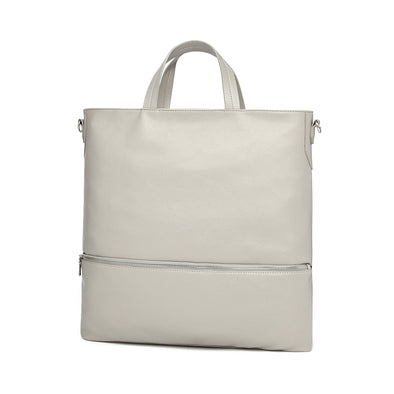 Holly Carry-all Tote Light Grey