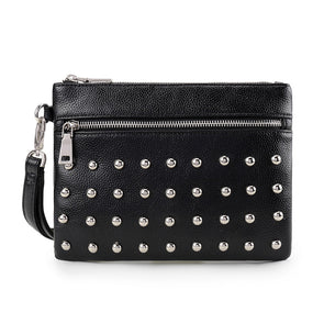 Rio Studded Nu Pebble Black