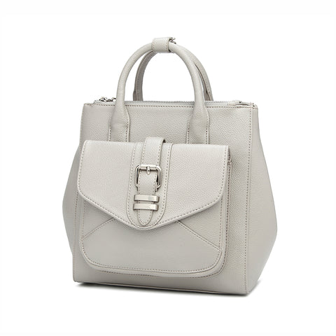 Kate Expandable Tote Light Grey