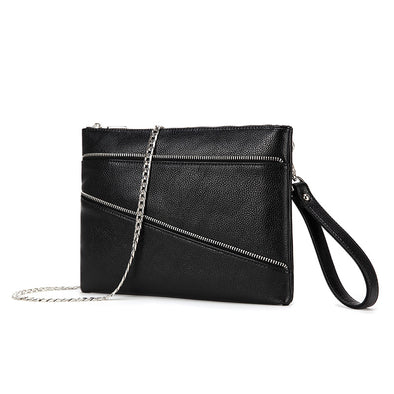 Lexi Carry-all Clutch / Wristlet Black