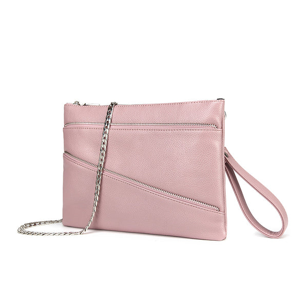 Lexi Carry-all Clutch / Wristlet Rosé