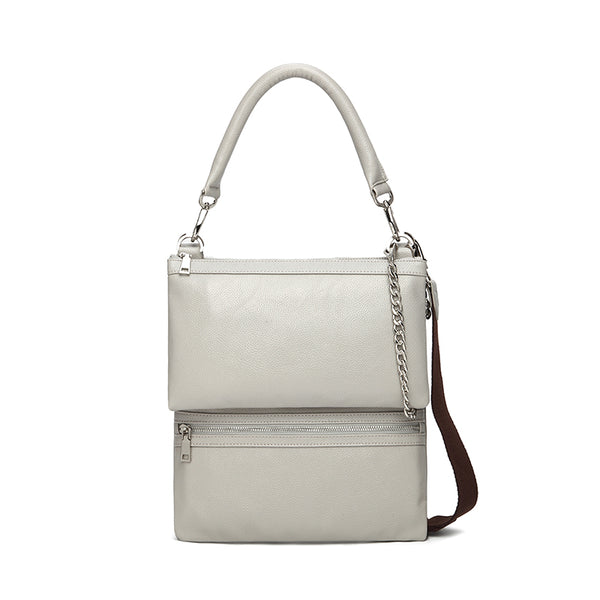 London Multi-functional CrossBody Handbag Light Grey