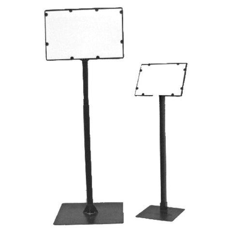 Black Sign Holders (2 sizes)