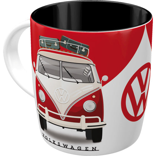 "Tazza in Ceramica Volkswagen T1 ""Good In Shape"" - Nostalgic Motor Art Merchandize"