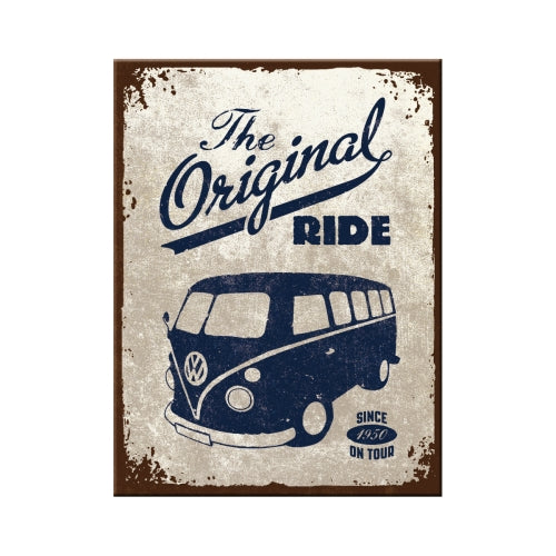 Magnete Volkswagen T1 The Original Ride 6x8 - Nostalgic Motor Art Merchandize