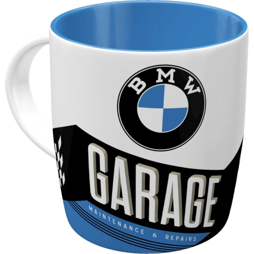 Tazza in Ceramica BMW Garage  - Nostalgic Motor Art Merchandize