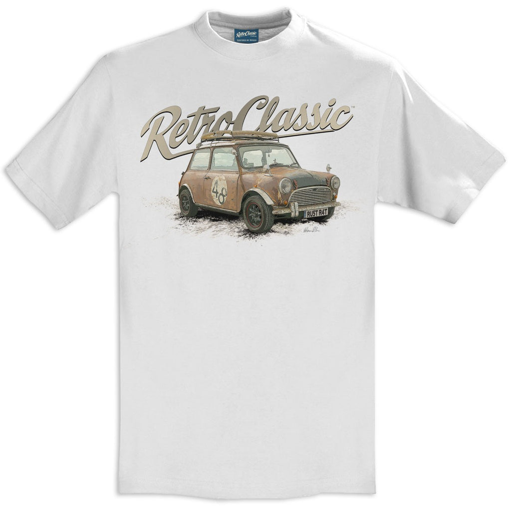 T-shirt Boris the Rust Bucket White Bianca - Retro Classic Clothing