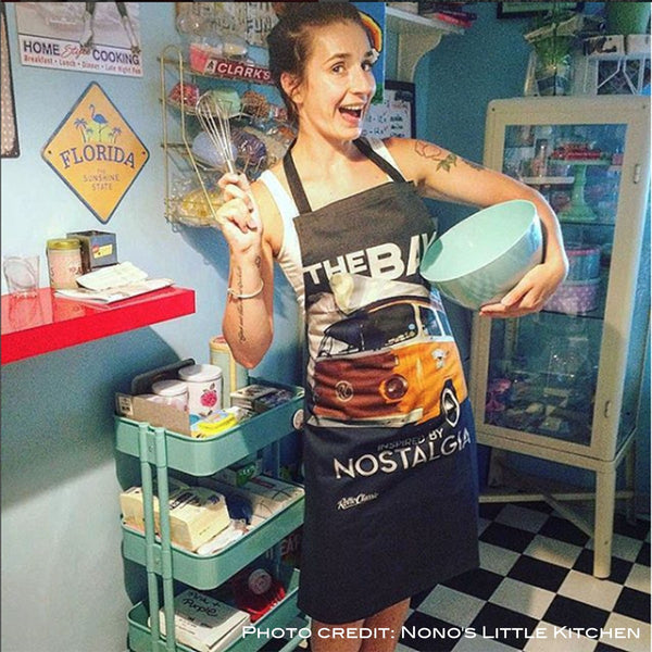 Grembiule Apron Timeless The Bay Camper Van - Retro Classic Clothing