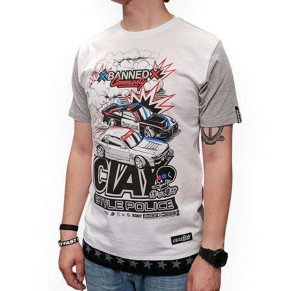 T-shirt Style Police - CIAY
