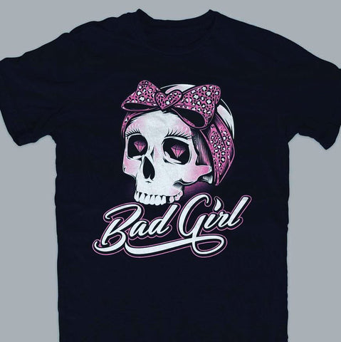 T-shirt Woman  Bad Girl - Overlow Streetwear