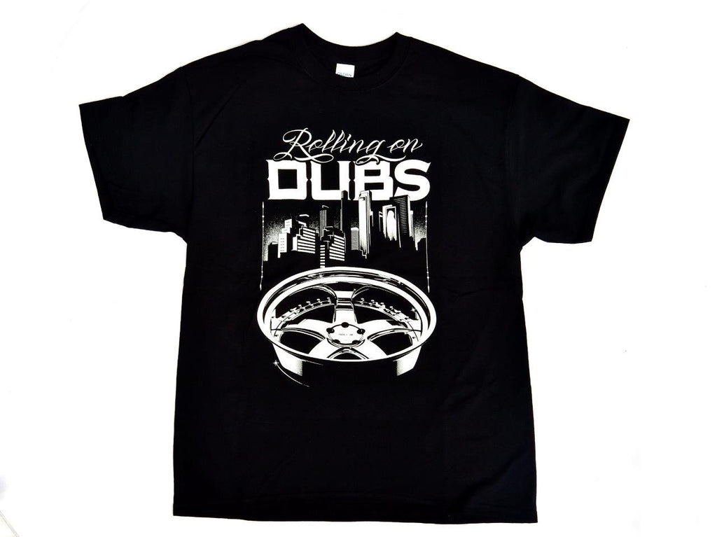 Tshirt Dubs Black Nera - Wheels World