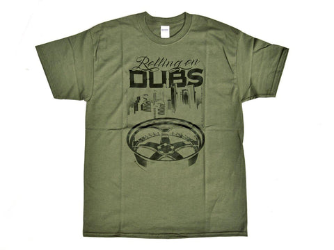 Tshirt Dubs Olive - Wheels World