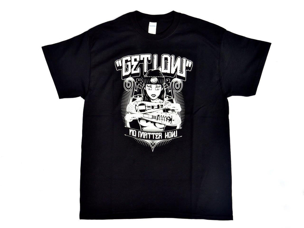 Tshirt Get Low Nera Black - Wheels World