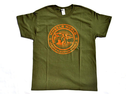 Tshirt T-One Olive - Wheels World