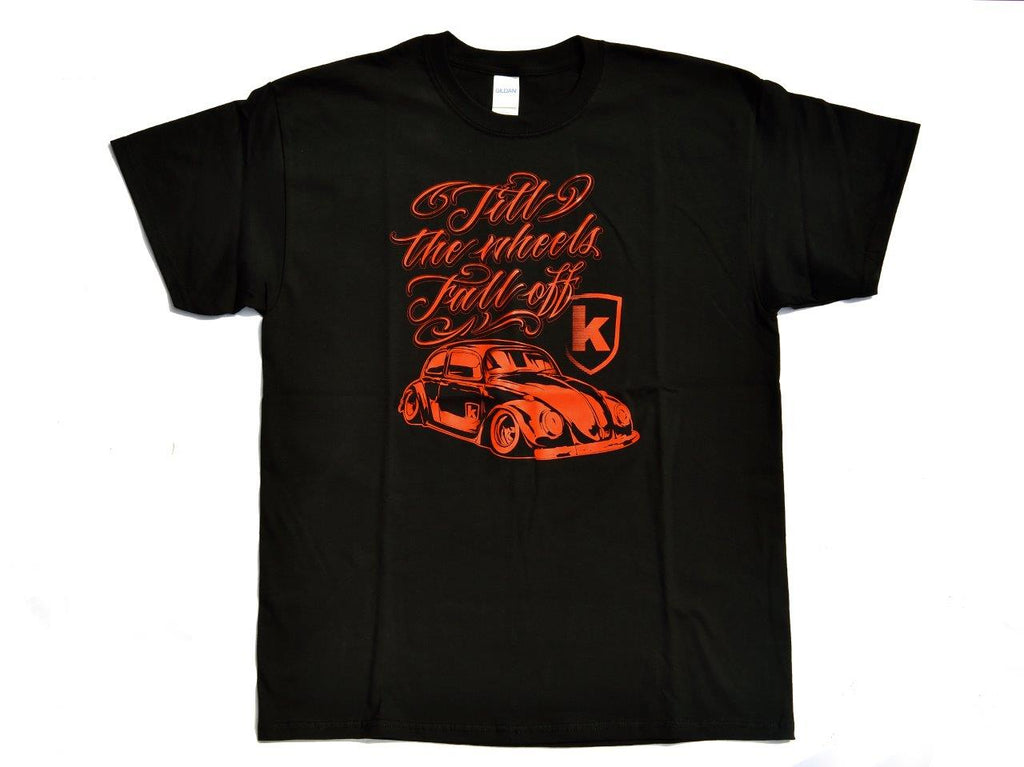 Tshirt Kafer Nera Black - Wheels World