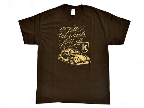 Tshirt Kafer Brown Marrone - Wheels World