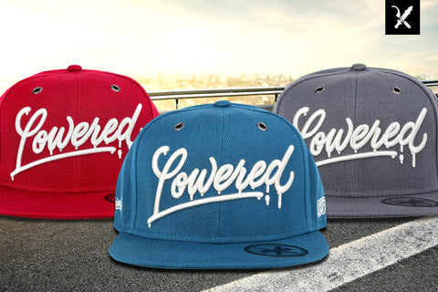 Snapback Lowered Mystery AZZURRO BLUE - LWSFCK