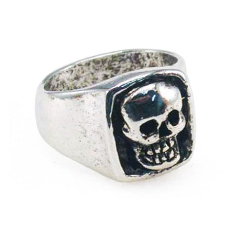 Jewels Anello Giant Skull Ring Amigaz - Kustom & American Brands