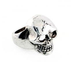Jewels Anello XL Skull Ring Amigaz - Kustom & American Brands