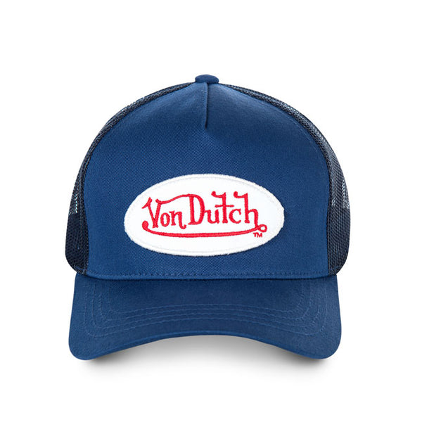 Von Dutch Baseball Cap Blue - Kustom & American Brands