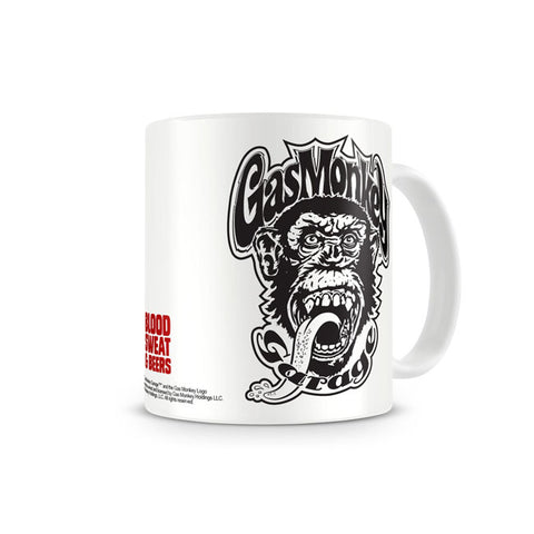 Tazza Gas Monkey Garage GMG Blood Sweat & Beers Coffee Mug - Kustom & American Brands