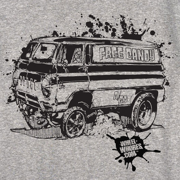 T-shirt Candy Van - Wheel Whores Italia