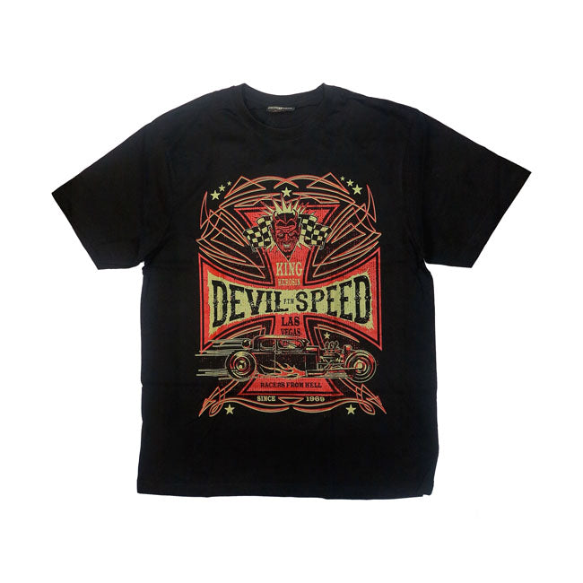 T-shirt King Kerosin Devil Speed - Kustom & American Brands