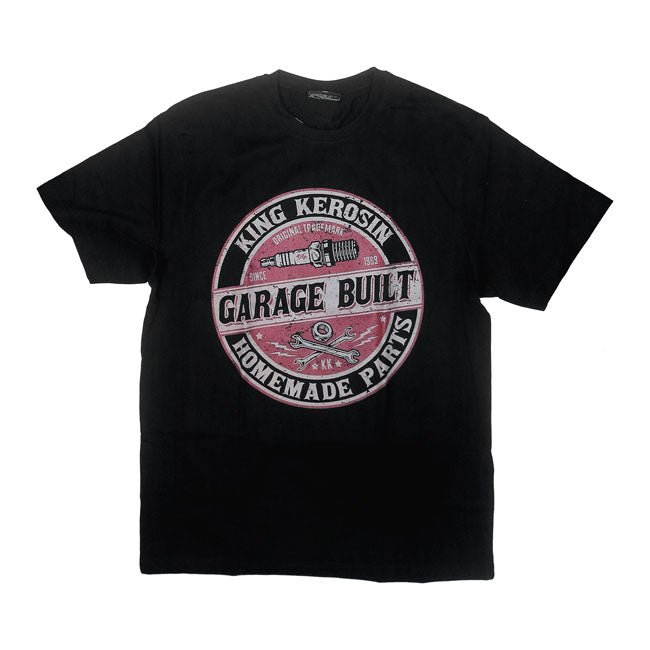 T-shirt King Kerosin Garage Built - Kustom & American Brands