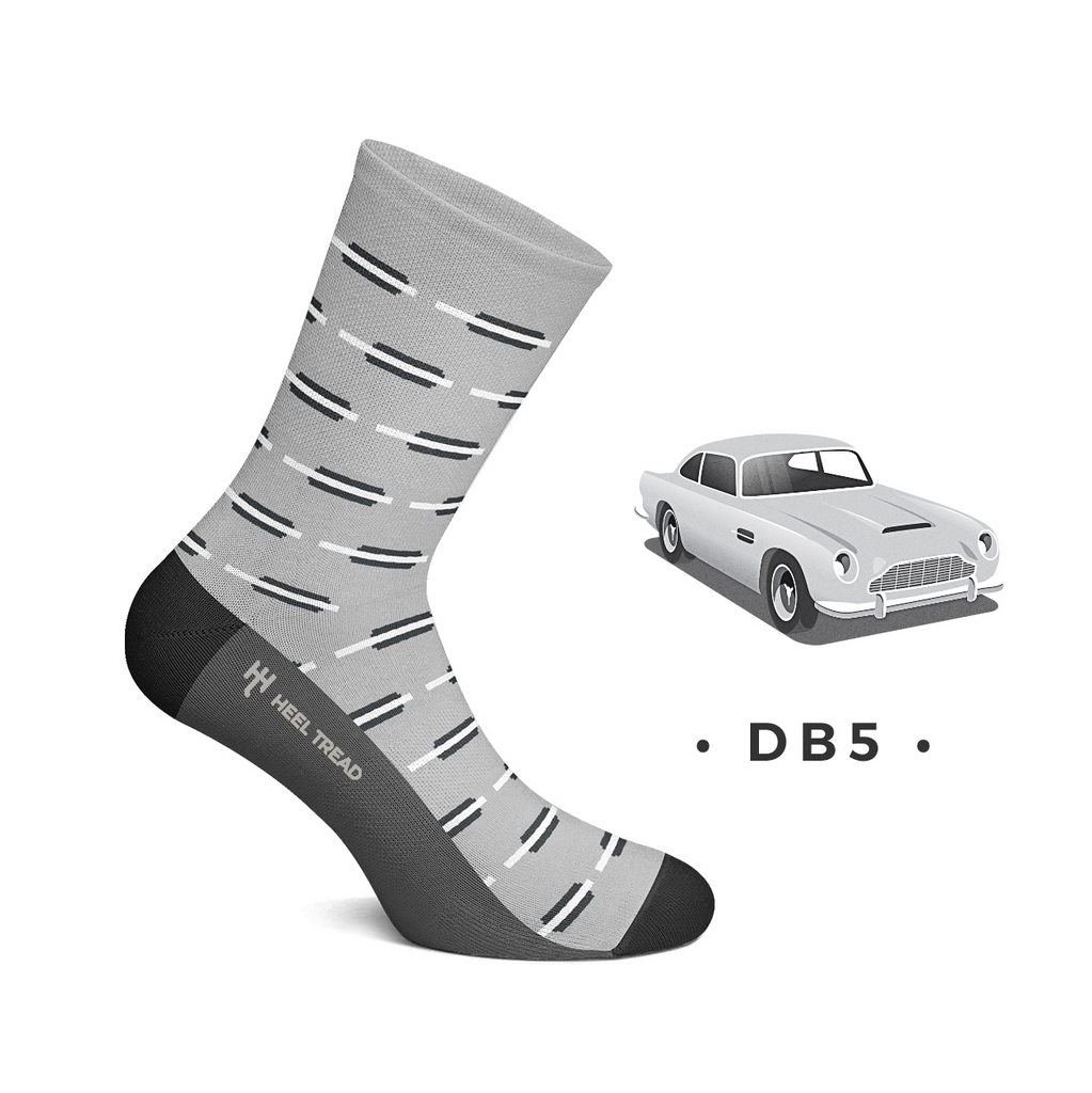 Calze Socks DB5 Aston Martin - Heel Tread