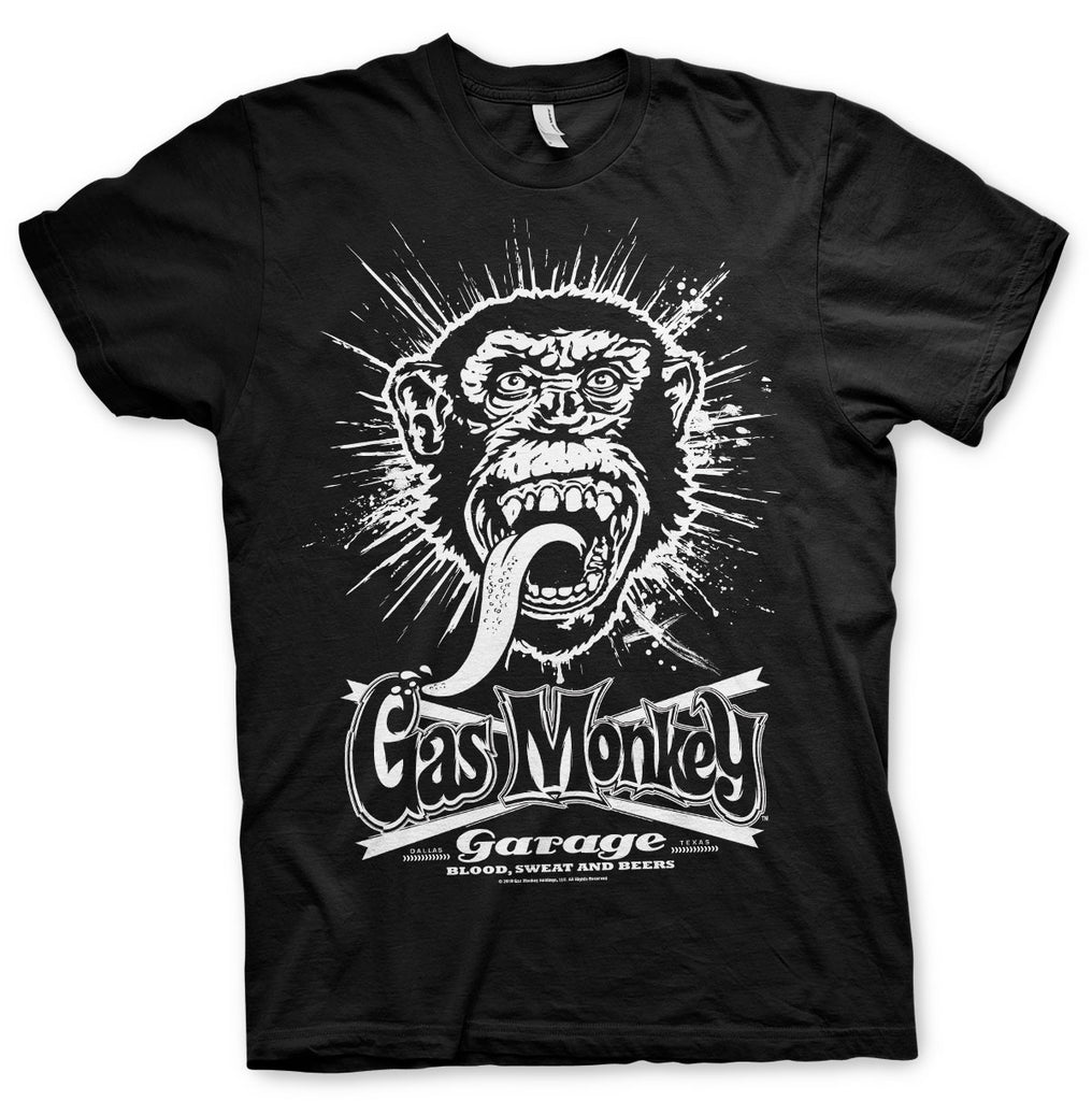 T-shirt Gas Monkey Garage Explosion - Kustom & American Brands