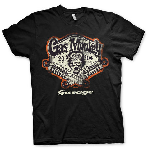T-shirt Gas Monkey Garage Spring Coils - Kustom & American Brands
