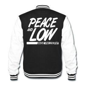 "Felpa Sweatshirt College ""Peace and Low"" - Peace and Low Petrolhead Clothing"