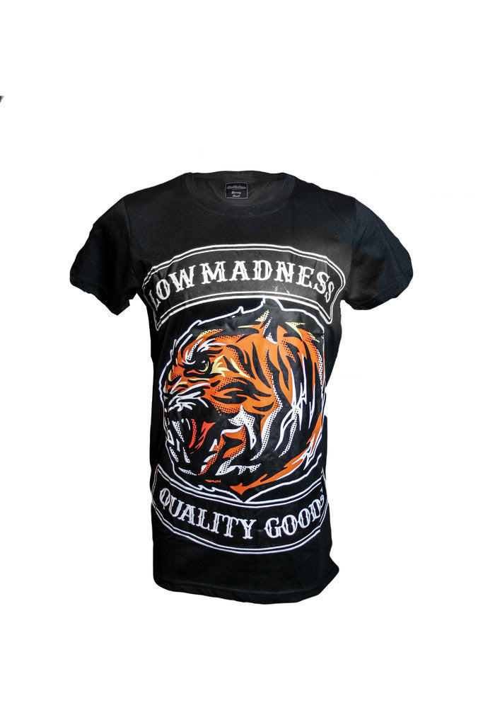 Tiger T-shirt - Lowmadness