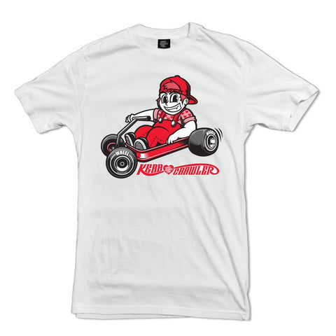 Kerb Crawler T-shirt Wheel Whores Italia